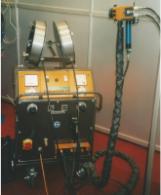 Impianto di zincatura a spruzzo OSU 300 A LDU 2 Push
