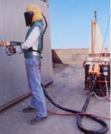 impianto di zincatura a spruzzo 300 A antiCOR
